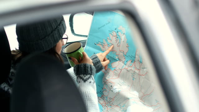 vidéos et rushes de planification de l'itinéraire - faire une pause