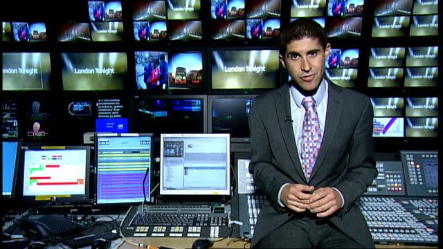 Plans for better broadband / ITV regional news pilot scheme abolished London GIR Reporter to camera