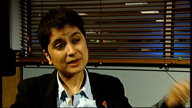 plans for tougher terrorism laws published london shami chakrabarti interview sot on the difference between proposed new terrorism legislation and... - notfallplan konzepte stock-videos und b-roll-filmmaterial