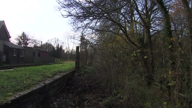 Plans to reopen rail lines closed in 1960s GVs of former railway line station and town at Winslow ENGLAND Buckinghamshire Winslow EXT GVs of site of...