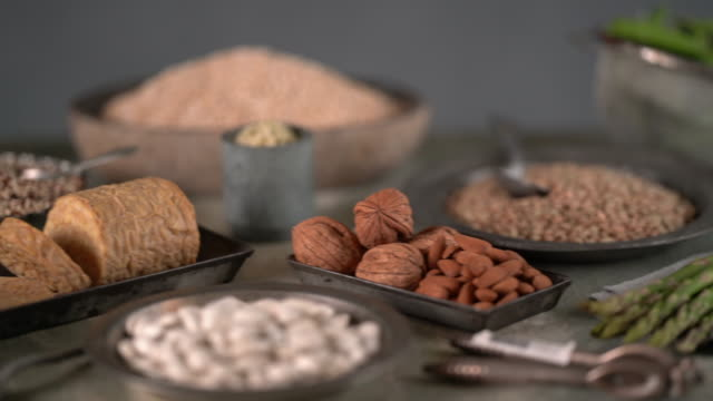 plant based protein - crucifers stock videos & royalty-free footage