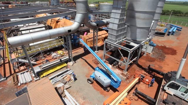 plant construction - 足場点の映像素材/bロール