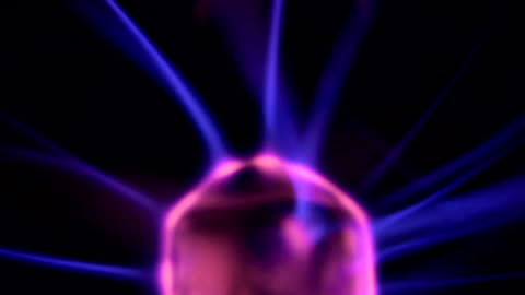 plasma ball head - plasma ball stock videos & royalty-free footage