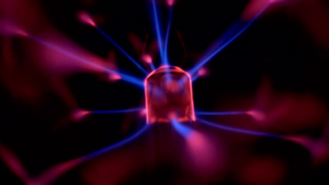 plasma ball - plasma ball stock videos and b-roll footage