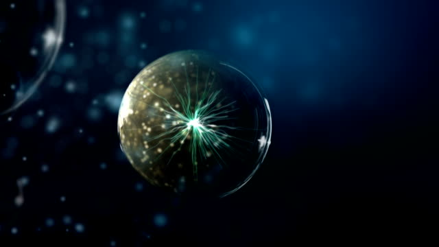Plasma glass ball