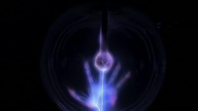 plasma_zoom1 - plasma ball stock videos and b-roll footage