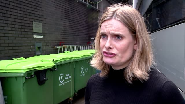 Plastic bottle deposit scheme to be introduced by government ENGLAND EXT Alice Ellison interview SOT