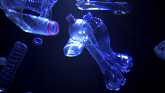 ペットボトル - 潰された点の映像素材/bロール