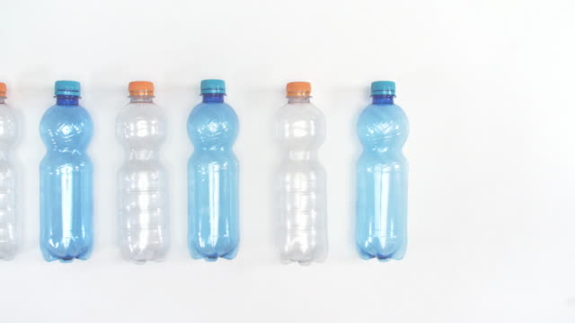 plastic bottles/ debica/ poland - bottle stock videos & royalty-free footage