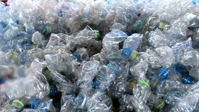 plastic bottles - bottle stock videos & royalty-free footage