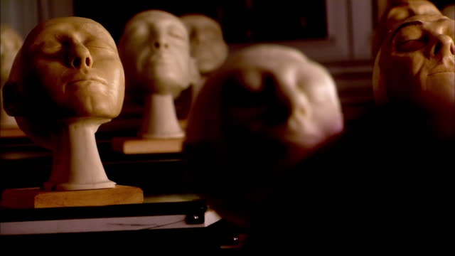 plastic head - medium group of objects stock videos & royalty-free footage