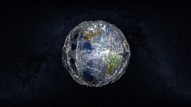 plastic-polluted earth - geology stock videos & royalty-free footage