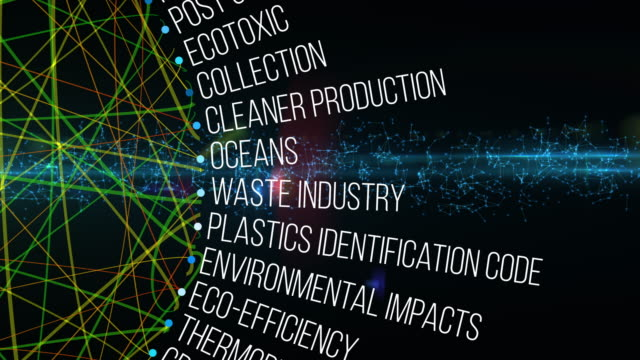 plastics waste terms - polyethylene stock videos and b-roll footage