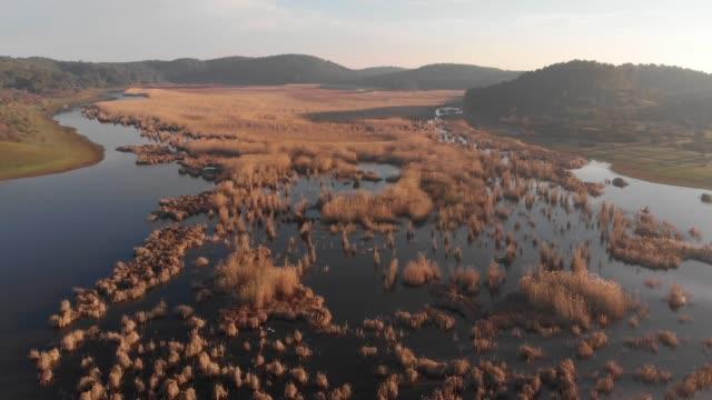 Platå sjön och Wildlife Reserve