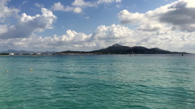 Platja de Muro beach in Majorca
