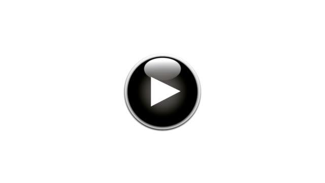 play button - blue - remote location bildbanksvideor och videomaterial från bakom kulisserna