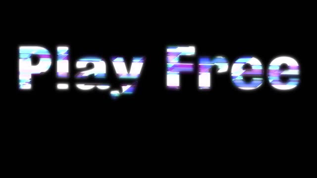Play Free Glitchy Words