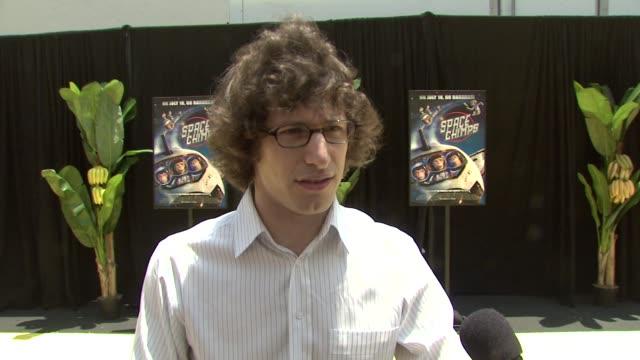 Play Live Andy Samberg at the 'Space Chimps' Screening at Los Angeles CA
