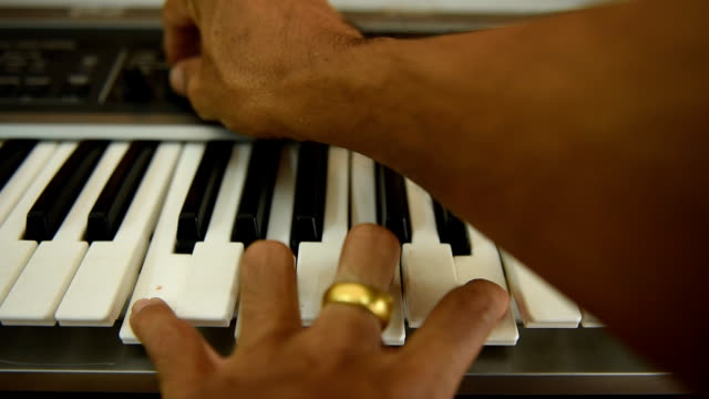 play piano - full hd format stock videos & royalty-free footage
