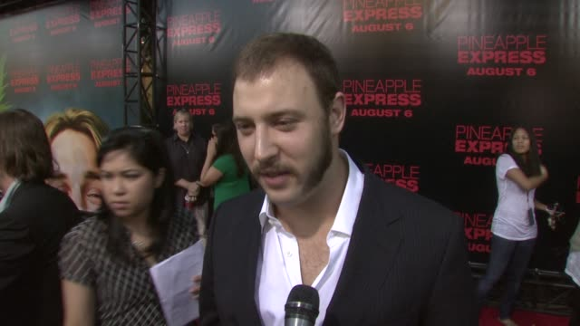vídeos de stock, filmes e b-roll de play seth rogen judd apatow at the 'pineapple express' premiere at los angeles ca - judd apatow