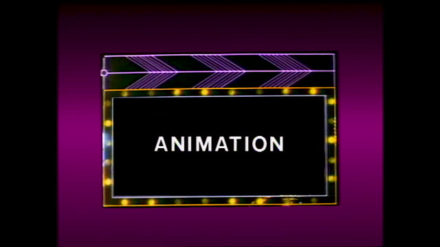 "different title cards ""how many drawings will be needed"" ""character design"" ""layout"" ""animation"" with footage of people working and talking to the... - animator stock videos & royalty-free footage"