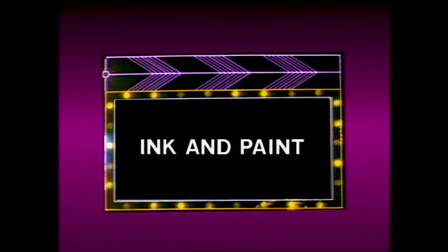 "different title cards ""testing the animation"" ""color models of the characters"" ""ink and paint"" and showing people working on each step; people... - animator stock videos & royalty-free footage"