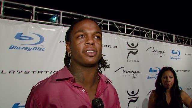vídeos y material grabado en eventos de stock de playboy mansion turns 'blu' for '08 espy awards kick off party at beverly hills california. - premios espy