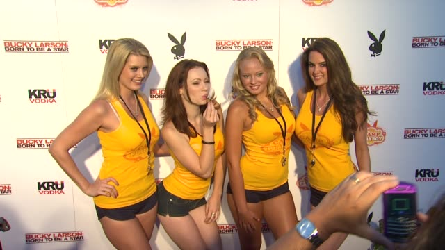 Playboy Playmates At The Camp Playboy Party At Comiccon Presented By Sony Entertainment And Kru Vodka
