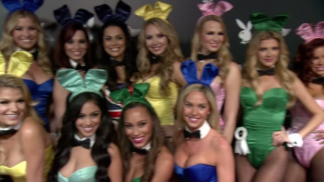 playboy playmates at the playboy party at the w scottsdale on january 30 2015 in scottsdale arizona - playboy magazine stock videos and b-roll footage