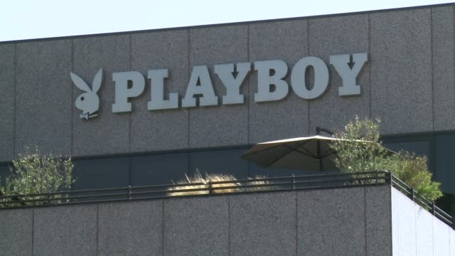 playboy says it will stop publishing nude photos in its iconic magazine for men throwing in the towel in the face of rampant online pornography - playboy magazine stock videos and b-roll footage