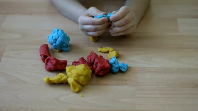 playdough game - dough stock videos & royalty-free footage