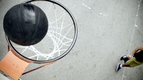 hd super slow-mo: player practicing small forward - bouncing stock videos & royalty-free footage