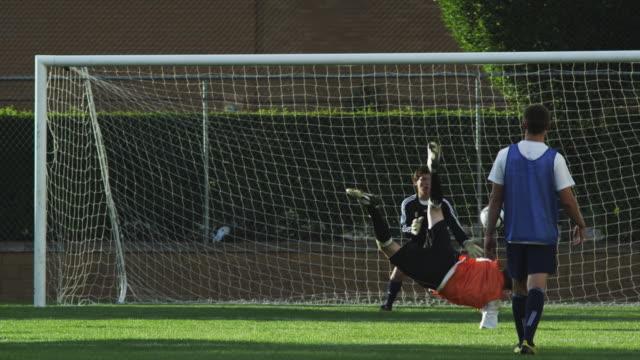 WS PAN Player scoring goal on field / Provo, Utah, USA