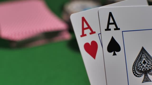 players checking hole cards - croupier stock videos & royalty-free footage
