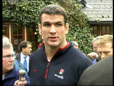 players go on strike; surrey: day martin johnson press conference sot - we don't take this action lightly but we feel we've got no other choice at... - surrey england stock videos & royalty-free footage