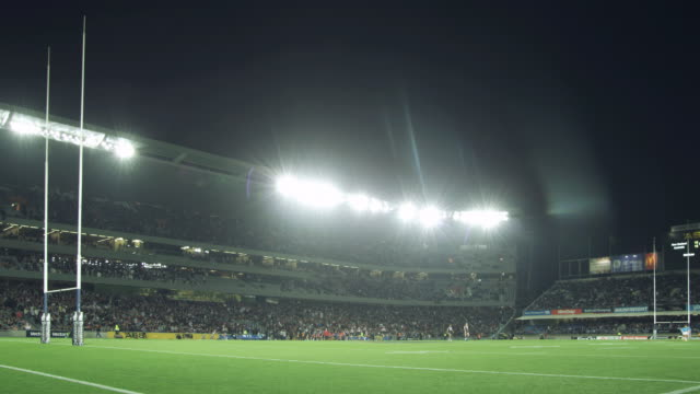 WS Players on the field during a match / Auckland, New Zealand