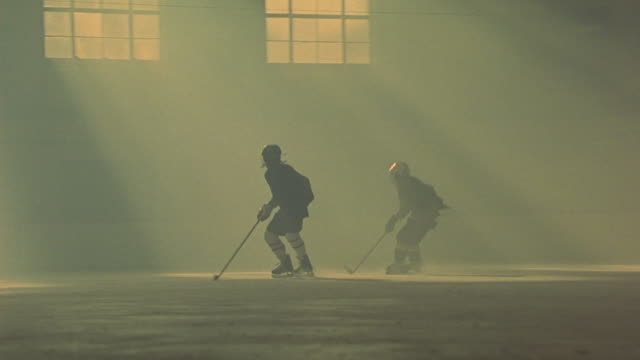 players practicing for a hockey game. - winter sport stock videos and b-roll footage