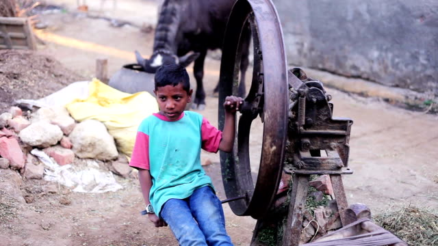 playful activity of poor child at home - hamlet play stock videos and b-roll footage