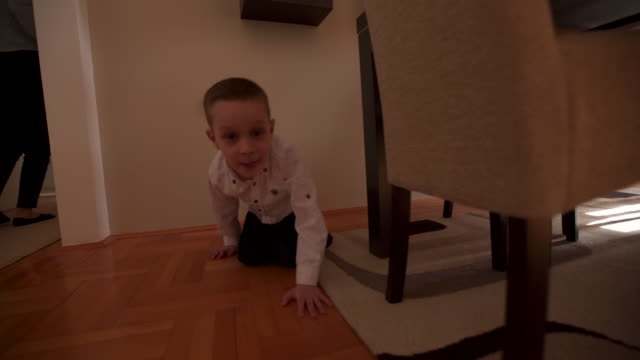 playful family - hiding stock videos & royalty-free footage