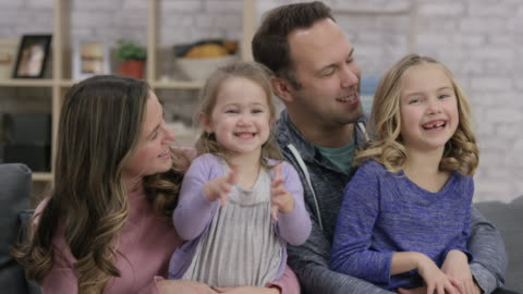 playful happy family - tickling stock videos & royalty-free footage