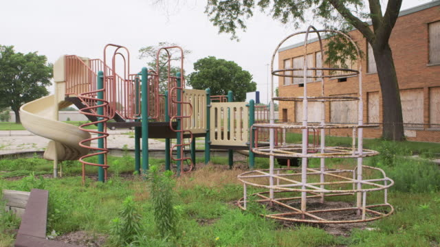 WS Playground at abandoned school