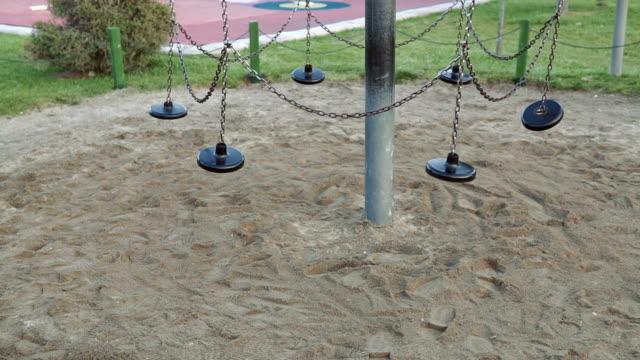 stockvideo's en b-roll-footage met speeltuin - peuterschool gebouw
