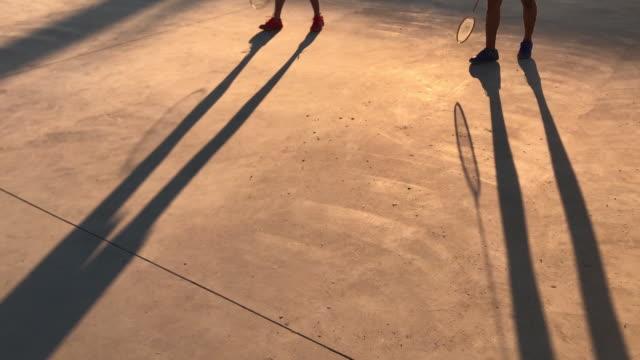 vidéos et rushes de jouer au badminton - badminton sport