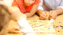 Playing Board Games At Christmas