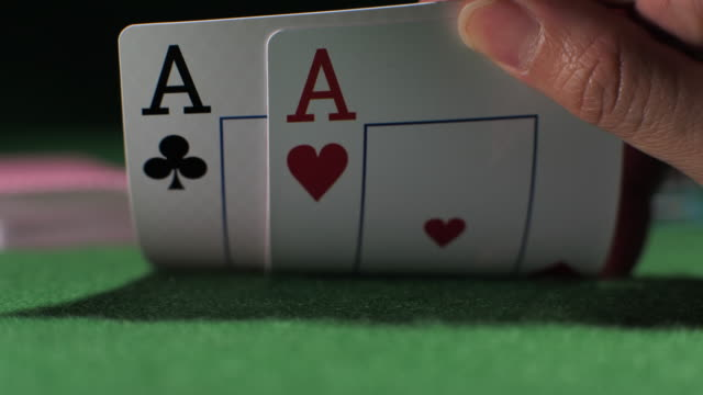 playing card in casino - gambling chip stock videos & royalty-free footage