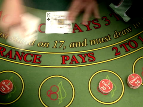 playing cards at a gambling table. - casino people stock videos & royalty-free footage