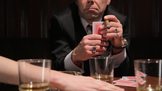 playing cards - organized crime stock videos and b-roll footage