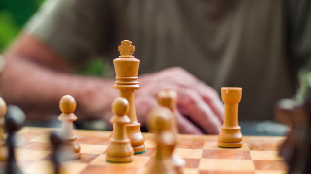 playing chess - chess stock videos & royalty-free footage
