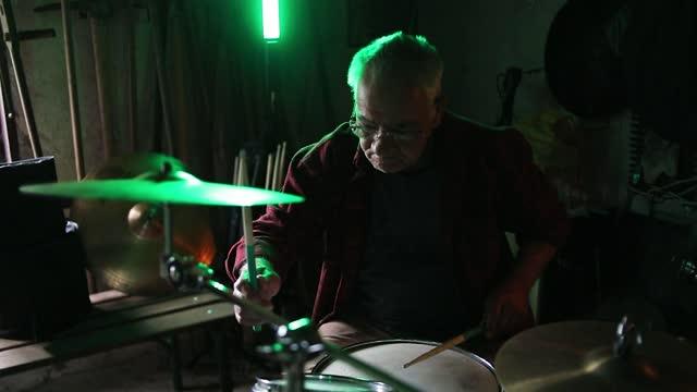 playing drums. - drum kit stock videos & royalty-free footage