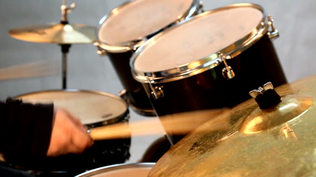 playing drums - cymbal stock videos and b-roll footage